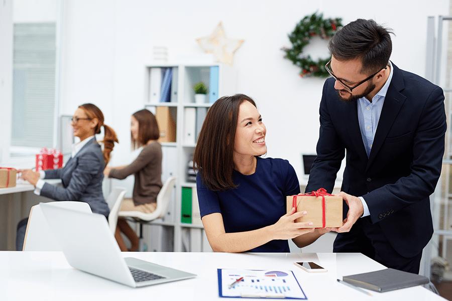 entreprise coffrets cadeaux sourires bureaux