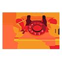 petite icone telephone fixe